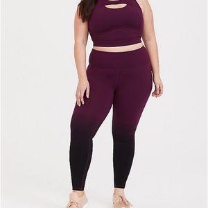 TORRID dip dyed workout pants 3